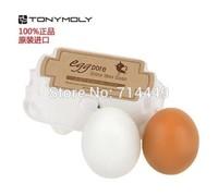 Tony Moly Facial Cleanser Soap Hand Made Shrink Pores 2pcs/set 100g Anti-Acne Deep Cleansing Soap Egg Pore Soap