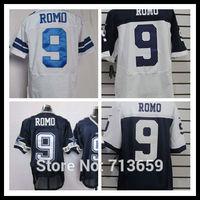 2014 Draft Football Jerseys Dallas #9 Tony Romo men's Elite jersey Sports Jersey,Embroidery Logos,Free Shipping,Accept Mix Order