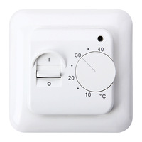 2014 New 16A Floureon Room Temperature Controller Electric Floor Heating Manual Thermostat Free Shipping