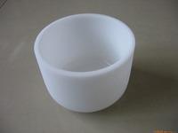 12' 18' 20' quartz silicon crucible/factory customized chemical furnace industry using quartz glass crucible/milk color crucible