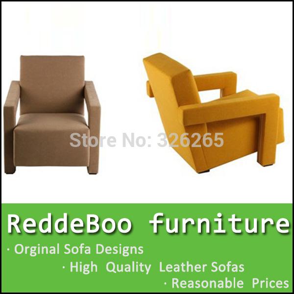 cheap modern design yellow fabric sofa chair for sale(China (Mainland))