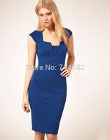 Summer dress 2014 sexy vestidos Elegant Celebrity Bodycom cocktail Party dress for work Plus Size S-XXL Women Dresses GZ103