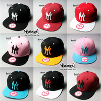New Fashion Unisex Hot Sale Snapbacks Letters Embroidery Hiphop Hat Hip-hop Hats Flat brim Cap Bboy Baseball Caps For Men Women