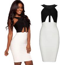 popular halter cut out dress