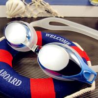 Plain glass  Myopia Hyperopic goggles swimming goggles  HD Waterproof Anti fog Glasses
