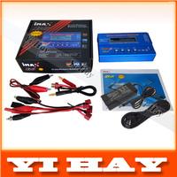 80W IMAX B6 Digital RC Lipo NiMh Battery Balance Charger AC POWER 12V 5A Adapter 2S-6S 7.4V-22.2V