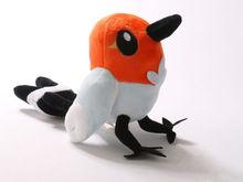 """New Pokemon Fletchling 6"""" Soft Plush Doll Toy Cute Pokemon XY Fletchling KML6(China (Mainland))"""