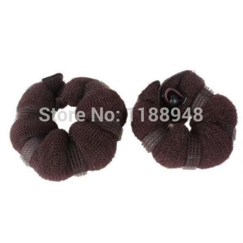 Hot Hair Fashion elegante magia estilo Bun criador bolos ( 1 grande 1 pequena ) 3 cores