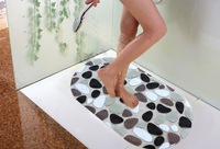 Anti Slip Shower Mat PVC Massage Pebble Non Slip Safety Tube Home Bathroom