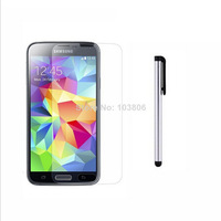 0.4 MM  Hardness 8-9H  Ultrathin Premium Tempered Glass Screen Protector + Stylus (free gift) for SAMSUNG GALAXY S5 I9600