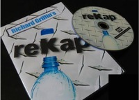 Free shipping,reKap (DVD & Gimmicks) by Richard Griffin-Magic Trick,Accessories,stage magic props,close up/mentalism