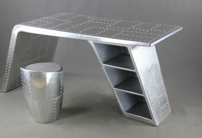 furniture aluminum skin retro minimalist european creative office