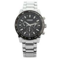 CURREN 8017 Quartz Fashion Stainless Water Resistant 3ATM Analog Leisure Men's Wrist Watch