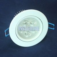 Dimmable 9W 15W 21W Cold White Warm White LED Recessed Cabinet Ceiling Downlight For Home Lighting---white shell