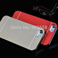 For iphone 4 4S case metal brush 2014 motomo new design  free shipping