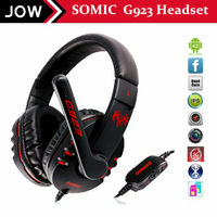 Free shipping by DHL New Arrivale earphones & headphones Somic G923 Stereo Gaming Headphone Microphone game hot sale PC Headset