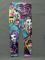 Momo - Wholesale [ 6-16T ] MONSTER HIGH newest original girls leggings, Cartoon Leggings for girls, 4pcs/lot Free Shipping
