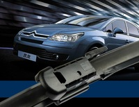 """Top quality car wiper blades for Citroen c4 c-Triomphe 28""""*24"""" Soft Rubber WindShield Wiper blade 2pcs/PAIR,Free shipping"""