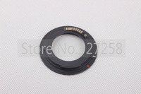 10pcs/lot black AF Confirm Mount Adapter For M42 Lens to Canon EOS EF Camera EOS 5D / EOS 5D Mark II / EOS 7D