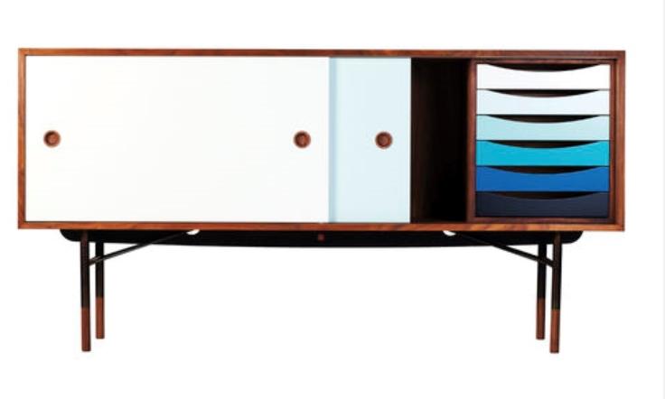 finn juhl conseil side cabinet meuble tv salon armoire de mobilier design color meuble tv dans. Black Bedroom Furniture Sets. Home Design Ideas
