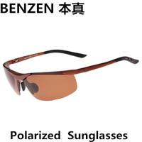 2014  New Men sunglasses Polarized  Sunglasses driver driving  glasses Mens Sport Sunglasses oculos  with case black 2072B