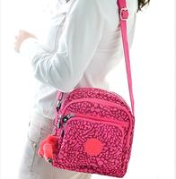 New 2014 Kip Waterproof Outdoor Leisure Sports Version Satchel Bag Monkey Nylon Canvas Shoulder Bag Free Shipping handbag