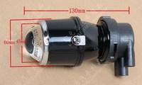 General fog lamp lens car fog lamp fisheye h3 halogen bulb light
