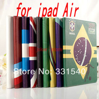 Free shipping  The Brazilian World Cup  Tablet PC cases for ipad air