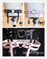 Free Shipping Sweetheart spike love punk HARAJUKU hard and soft one-piece garters