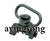 Quick release sling swivel mount fit ris ras rail Black
