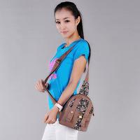 2014 hemp bag national trend chest pack female messenger bag women's small bags fluid female chest pack
