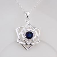 Free Shipping 925 Silver fashion jewelry Necklace pendants Chains, 925 silver necklace N481 fashion necklace sbub jxko