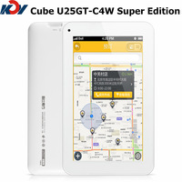 Cube U25GT C4W MTK8127 Quad core 1.3GHz 7 inch GPS Tablet PC 1G RAM 8G ROM 1024*600px Android 4.4 U25GTC4W Bluetooth Mini HDMI