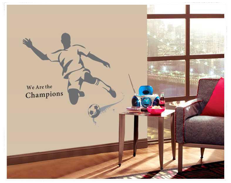 Behang Kinderkamer Voetbal : Online kopen Wholesale 3d slaapkamer ...