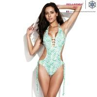 2014 Sexy Bikini Set Push Up Swimwear 2014 RELLECIGA New Fashion Free Shipping Swimsuit Brand Style Women Bikinis