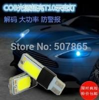 2x T10 COB LED Super Bright Car Light Canbus Error Free 194 168 W5W Parking Backup Reverse For Brake Lamp Free shipping