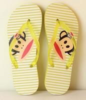 2014 Spot wholesale summer sandals female monkeys flat shoes beach flip-flops detonation