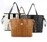 2014 new MC printing  PU Handbags tote Fashion bags totes shoulder Brand bags  010