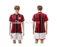 2014-2015 AC milan home soccer jerseys,soccer shirt,soccer uniform,trainning jerseys 100% embroidery