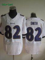 Hot #82 Torrey Smith White Jersey Elite Stitched On-Field American Football Jersey American football jerseys Cheap Jerseys