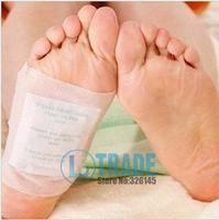 125packs=250pcs/lot Kinoki Detox Foot Pads Patches with Adhesive / No Retail Box(250pcs=125pcs Patches+125pcs Adhesives)