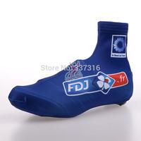 Free Shipping! Unisex 2014 FDJ FR  Cycling shoe covers / ciclismo bike shoes cover/ sz13