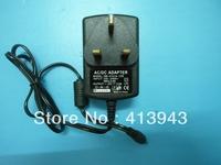 Free shipping 1PCS AC 100V-240V Converter Adapter DC 24V 1A Power Supply UK Plug DC 5.5mm x 2.1mm 1000mA