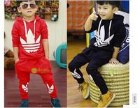 2014 Korean version of spring models boy sweater pants suit free shipping