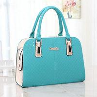 12 Colors New Embossed Bags PU Leather Women Hobo Clutch Handbag Shoulder Tote Sling Bag B228