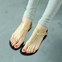 Fashion 2014 cutout female flip-flop flat sandals flip shoes flat heel women's shoes free shipping