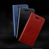 New Luxury Wallet Flip Genuine / Real Leather Case Cover For Apple iPhone 5C / iPhone5C / Original Mobile Phone Bag