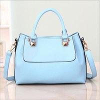 High Quality New Rivets Bags PU Leather Women Hobo Clutch Handbag Shoulder Tote Sling Bag B227