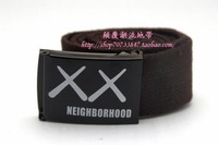 New 2014 Fashion 7 Color Brand Designer Knitted Canvas Belt For Women and Men B14052745 Free shipping