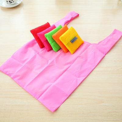Fashion portable folding shopping bag waterproof pouch debris bags(China (Mainland))